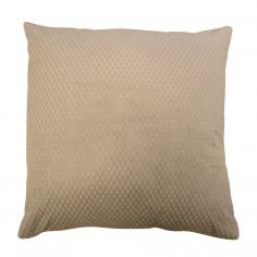 Colorado Waffle Chenille Effect Cushion Cover - Taupe