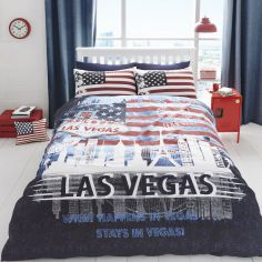 What happens in Vegas... Stays in Vegas! Duvet Cover Set