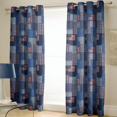 What happens in Vegas... Stays in Vegas! Design Lined Eyelet Curtains