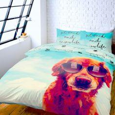 It's a Dogs Life! Reversible Duvet Cover Set