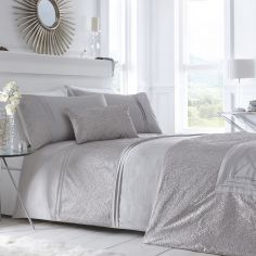 Lavelle Quilted Bedspread - Steel Grey