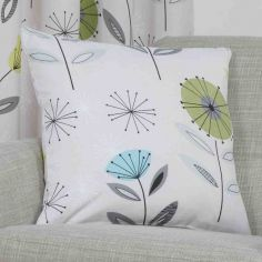 Monterey Floral Cushion Cover - Lime Green