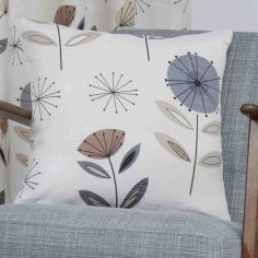 Monterey Floral Cushion Cover - Natural