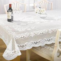 Chantal Lace Tabecloth White