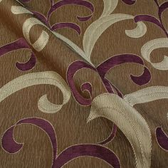 Aubergine Hollywood Made to Measure Curtain