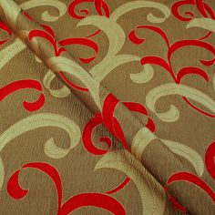 Red Hollywood Made to Measure Curtain