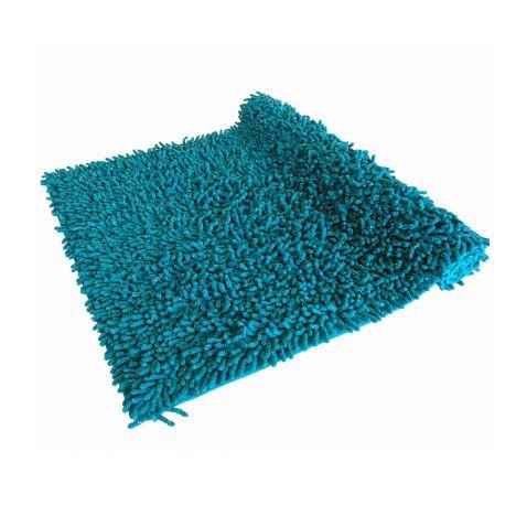 Luxury Sparkle 100 Cotton Chenille Rug Bath Mat Teal