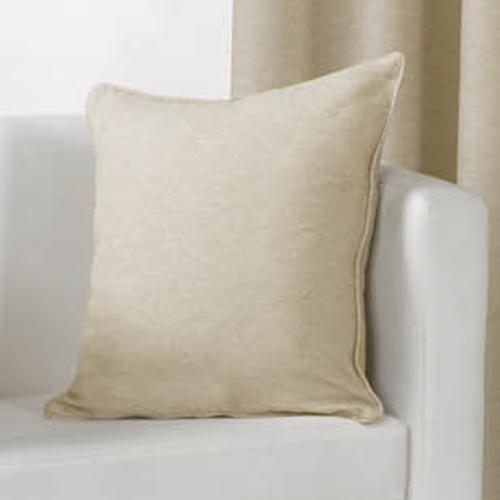Sorbonne Plain Cushion Cover Natural Tonys Textiles