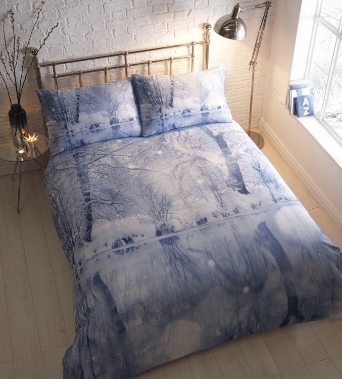 wondrland christmas duvet quilt flannelette. Black Bedroom Furniture Sets. Home Design Ideas