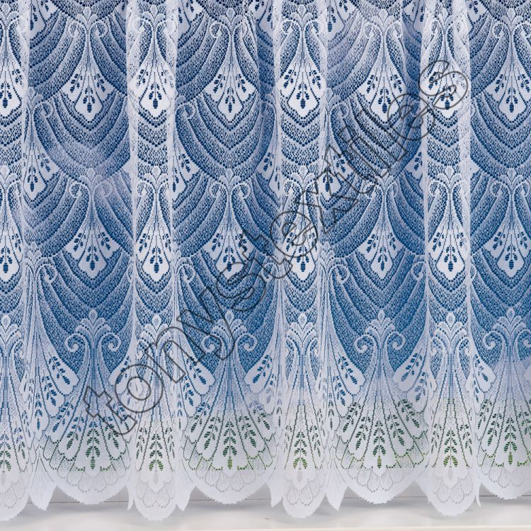 luxury heavy weight lace net curtain white tony 39 s. Black Bedroom Furniture Sets. Home Design Ideas