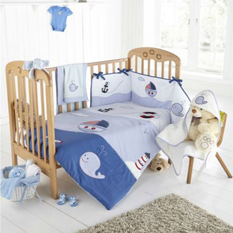Nautical Ship Mate Cot Quilt Tonys Textiles