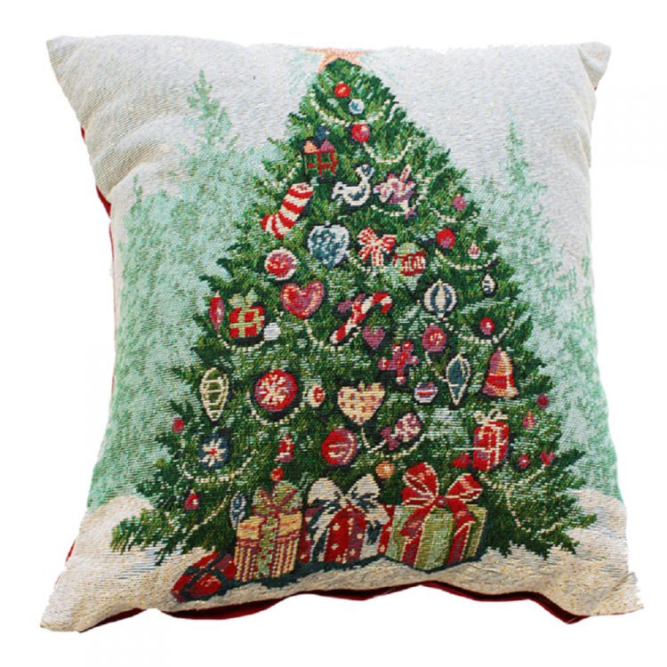 Christmas Tree Festive Cushion Cover Tony S
