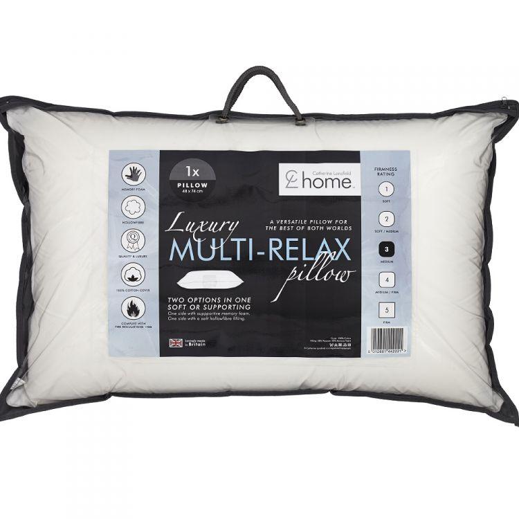 Catherine Lansfield Luxury Multi Relax Pillow
