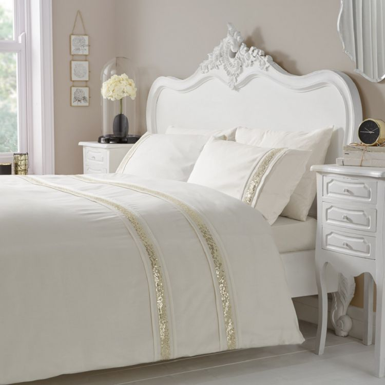 Luxurious Comforters And Accessories Other Glance Cream