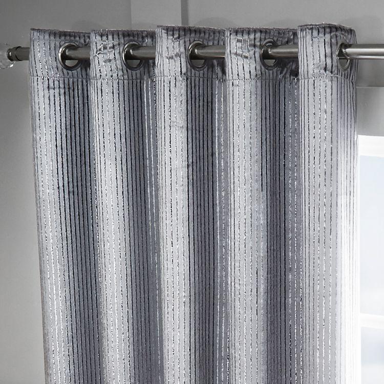 Silver Sparkle Velvet Curtains Tony S Textiles