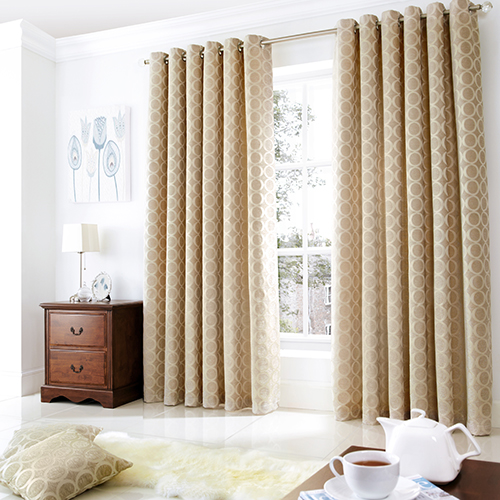 New In Colourful Curtains