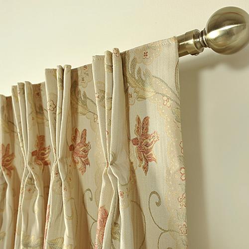 Caramel Kent Made To Measure Curtain