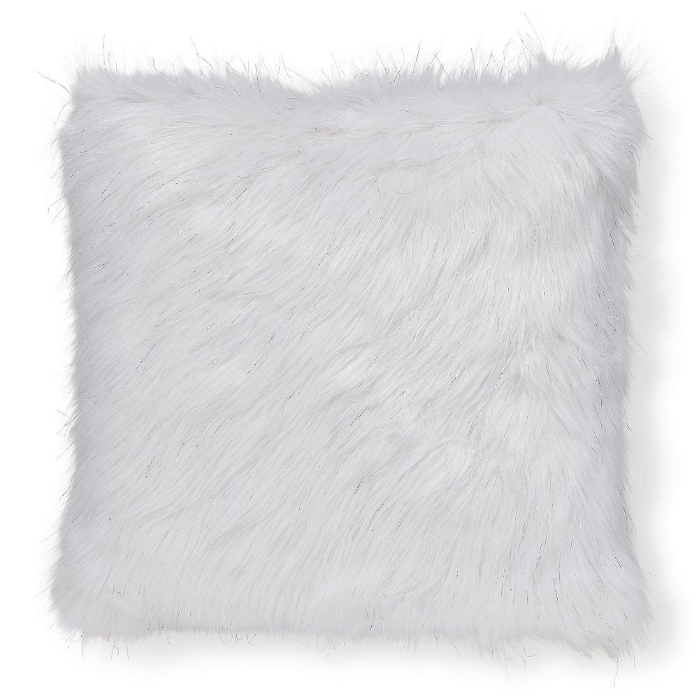 loraine pillow square decor faux fur throw pdp