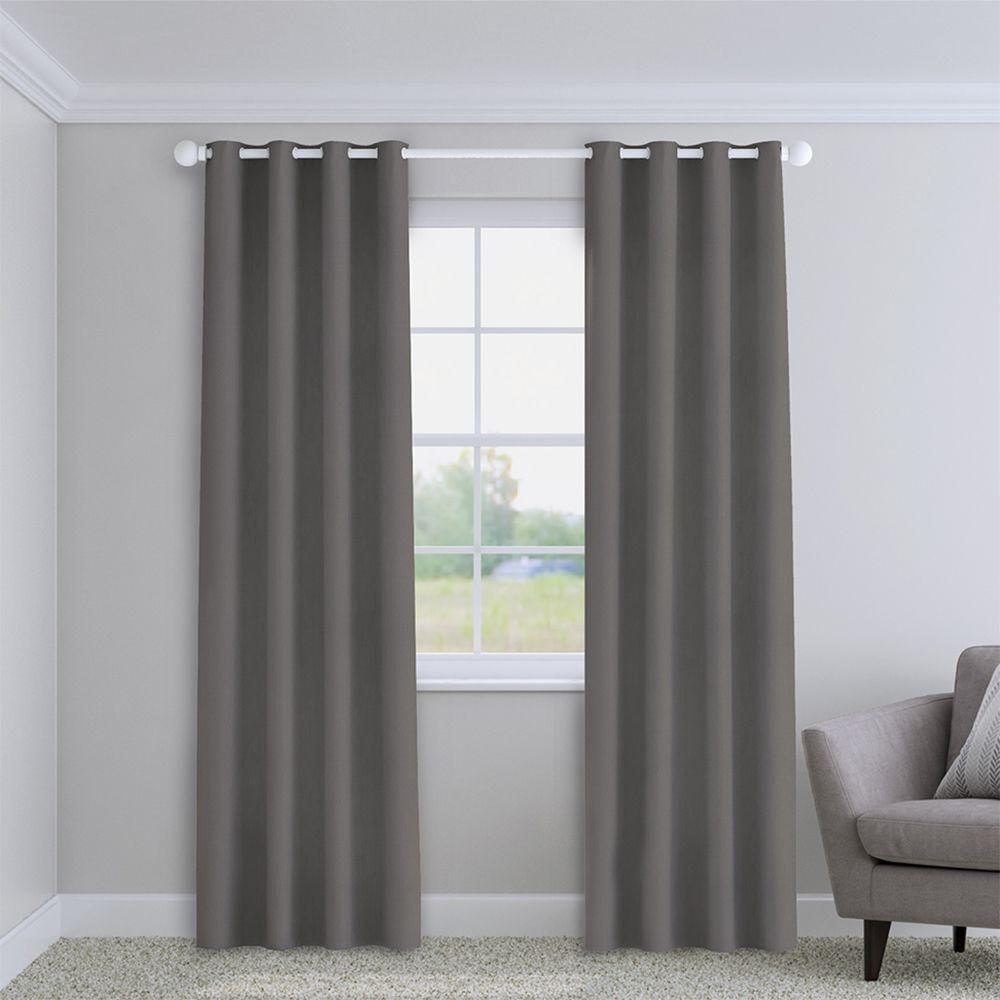 Plain Light Grey Made To Measure Curtains Tonys Textiles