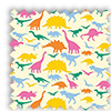 Dinosaurs Colourful Blackout Roller Blinds - Multi