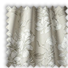 Scribble Sandstone Cream Floral Made To Measure Curtains