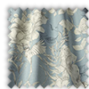 Scribble Floral Wedgewood Blue Made To Measure Curtains