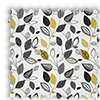 Autumn Fall Noir Black Roman Blind