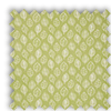 Kato Zest Green Modern Leaves Roman Blind
