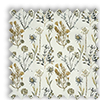 Allium Ember Yellow Floral Made To Measure Curtains