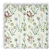 Allium Summer Beige Floral Made To Measure Curtains