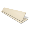 Faux Wood Venetian Blind With Tape - Eggshell Cream & Cream