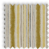 Garda Striped Ochre Yellow Made To Measure Curtains