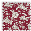Aquataine Rouge Red Vintage Floral Made To Measure Curtains