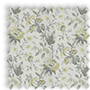 Hampton Flint Yellow Traditional Floral Made To Measure Curtains