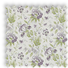 Hampton Grape Purple Traditional Floral Made To Measure Curtains