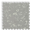 Etched Feather Grey Delicate Floral Made To Measure Curtains