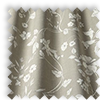 Etched Linen Beige Delicate Floral Made To Measure Curtains