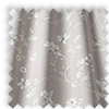 Etched Wildrose Pink  Delicate Floral Made To Measure Curtains