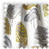 Scandi Wood Ochre Yellow Modern Made To Measure Curtains