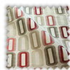 Soho Red Roman Blind