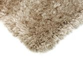 Eva Table Tufted Plain Rug - Ecru Taupe