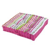 Matelot Striped Floor Cushion - Pink