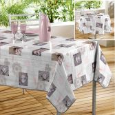 Suzanne Photoprinted PVC Tablecloth - Multi