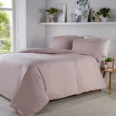 Renaissance Luxury Embroidered Duvet Cover Set - Blush Pink