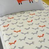 Cosatto Mister Fox Kids Twin Pack Fitted Sheets - Orange