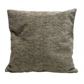 Plain Chenille Cushion Cover 18 Inch - Natural
