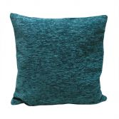 Plain Chenille Cushion Cover 18 Inch - Teal