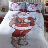 Father Christmas Santa Duvet Cover Set