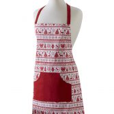 Christmas Noel Red Apron