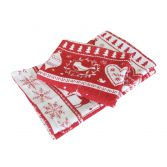 Red & White Christmas Noel 3 Piece Set of Kitchen Towels